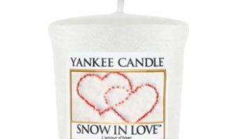Parfumul unisex Yankee Candle Snow in Love lumânare votiv 49 g – Informatii si Pret